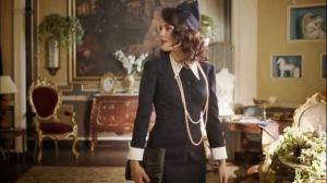 Sira Quiroga vestido negro 2